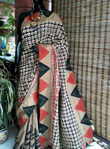 Hand crafted kantha Silk